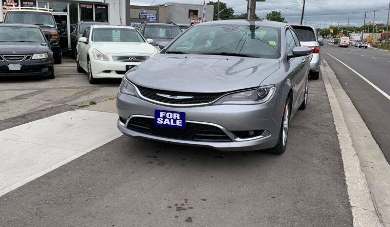 2015 Chrysler 200 SOLD full